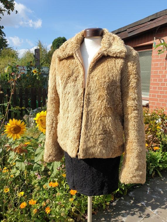Fake Fur Fur Jacket 90s Retro Vintage