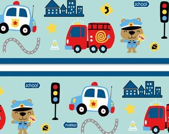Wandtattoo Polizei Etsy