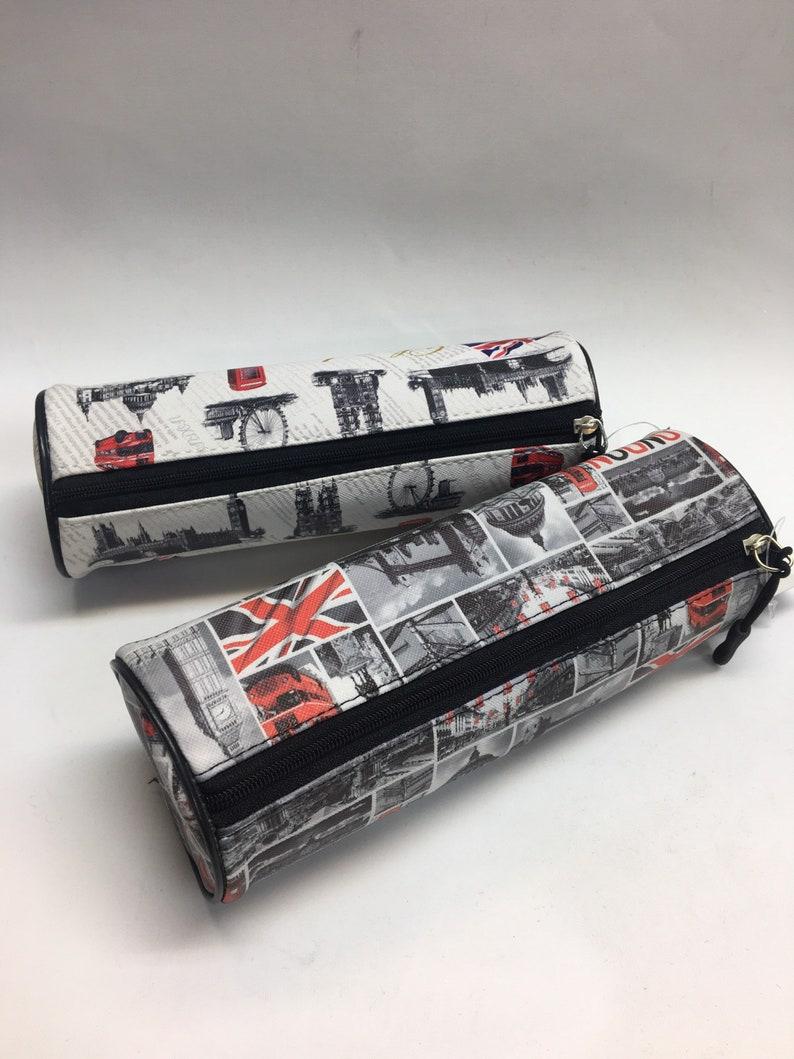 Pencil case  London Souvenir  quality pen pencil  make up case