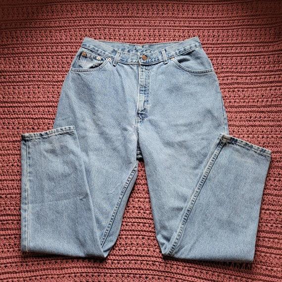 100/% Cotton Vintage Chic Jean Shorts Made in USA Medium Wash