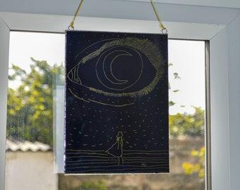 Moonlight Wall Decor Craft Art