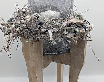 Winter Arrangement Winter Decoration Christmas Arrangement Christmas Decoration Lantern Candle Balls Stars
