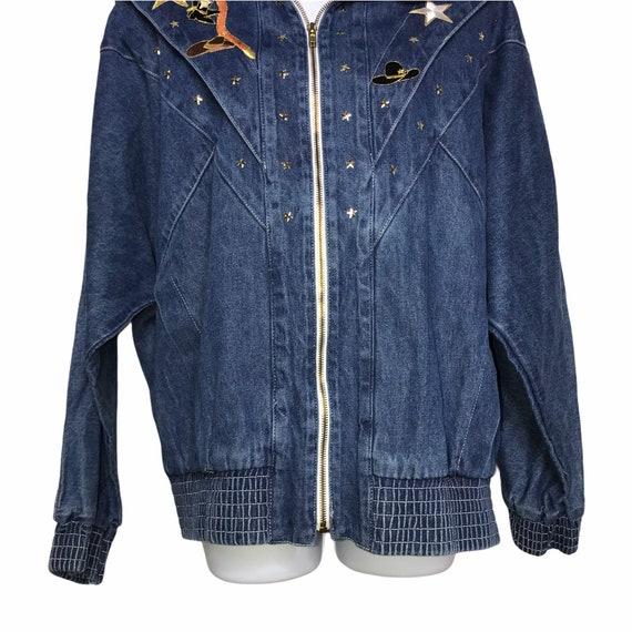 Pado Vintage CottageCore Western Show Jacket M - image 3