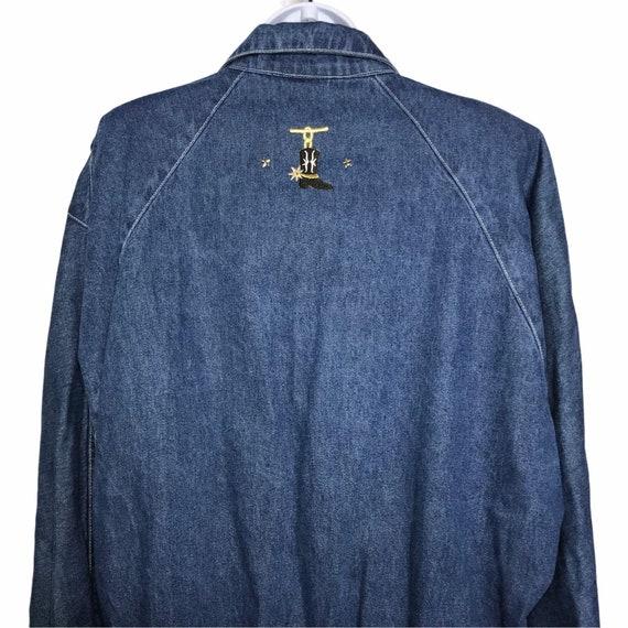 Pado Vintage CottageCore Western Show Jacket M - image 7