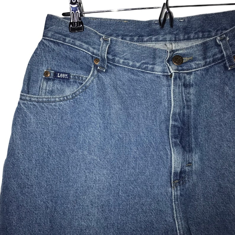 Lee Vintage High Rise Tapered Mom Jeans 14 30