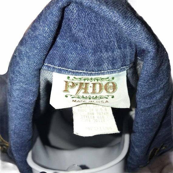Pado Vintage CottageCore Western Show Jacket M - image 9