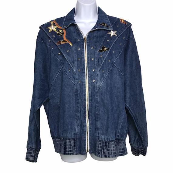 Pado Vintage CottageCore Western Show Jacket M