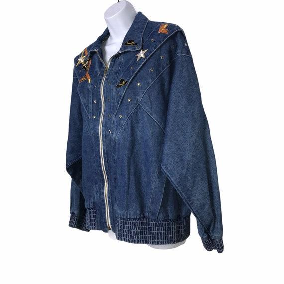 Pado Vintage CottageCore Western Show Jacket M - image 5
