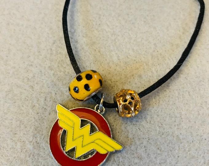Superhero/Girl Power Charm Bracelet