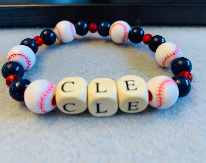 Cleveland  Baseball Bracelet