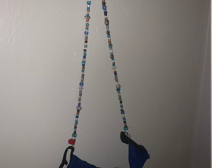 Mask Holder/Necklace (Shown Personalized Example- Teacher Appreciation)