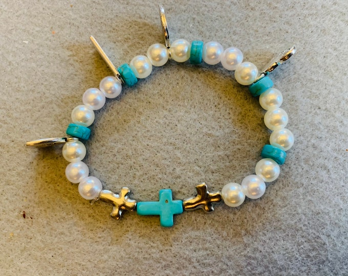 Family Tree Bracelet (buyer chooses charm and color scheme)
