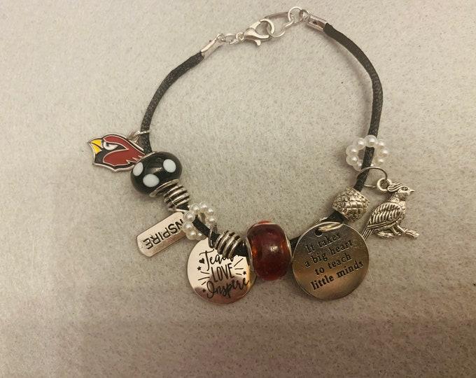 Canfield Teacher Appreciation Charm Bracelet