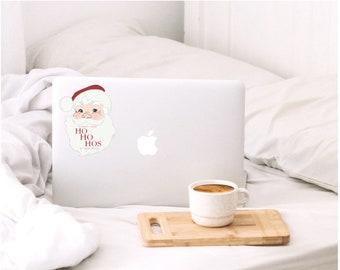 CLEARANCE WAP Santa Sticker | Stocking Stuffer | Christmas Sticker | Lifeproof Vinyl