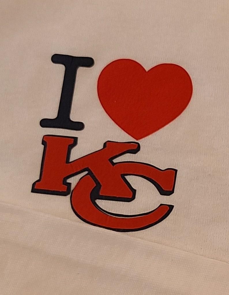 Kamsas City Chiefs Baby Onesie and Bib set cheifs fan