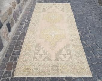 Persian Rug Area Rug, Turkish Rug,8.8 x 3.9 ft, Anatolian Rug,Vintage Rug, Handmade Rug, Decorative Rug, Wool Rug, Number:C1205 Vintage Rug,