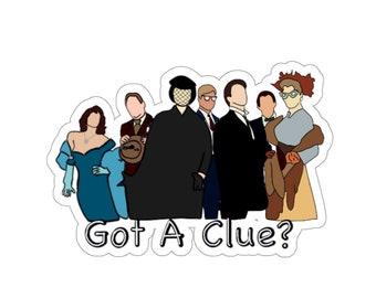Clue Cast | Sticker