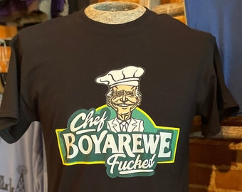 Chef Boyarewe Fucked graphic tee | Anti Biden | Trump Train | Bella + Canvas Tee
