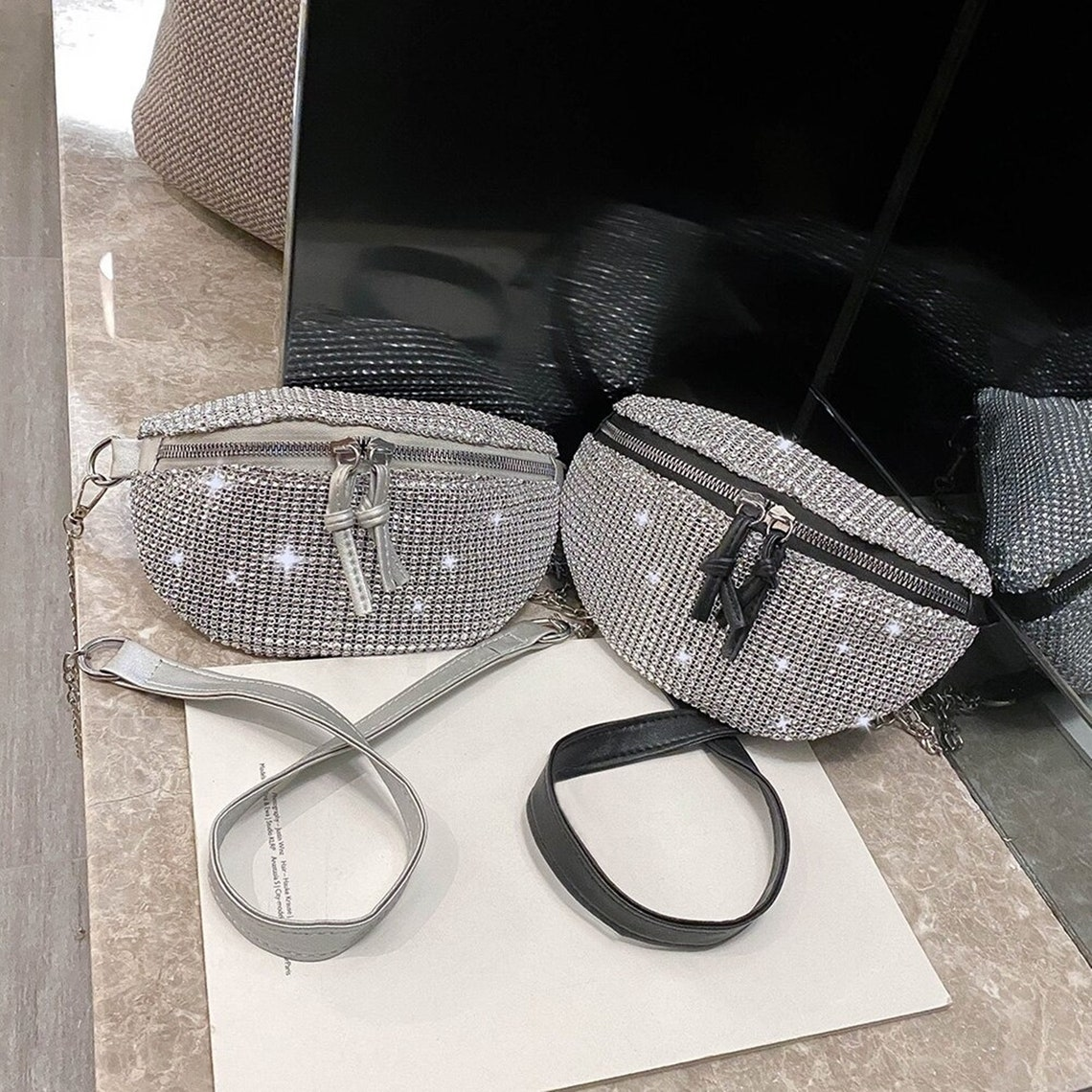 Handbag Express - Handbags - Rhinestone Bling - Petite