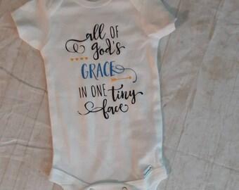 inspirational onesie godly onesie faith onesie grace onesie saving grace Be someones saving grace
