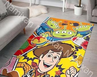toy story Woody Buzz Rug Decoration Carpets Floor Mats Bath Plush Rugs