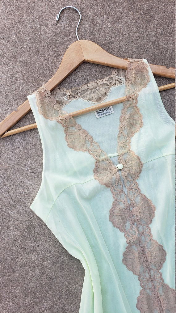 Vintage Emilio Pucci For Formfit Rogers Negligee … - image 3