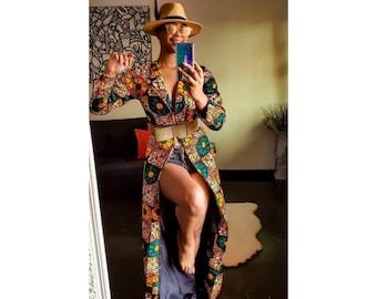 Kimono (african print Kimono)