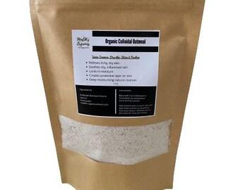 Organic Colloidal Oatmeal Powder - Food Grade - Malik's Organics