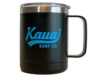 Kauai Surf Co. Stainless Steel Mugs - Set of Four 12oz