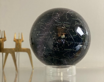 """Magnetic Celestial Star Globe -7"""" 32 Piece Star Globe Puzzle, Astronomy, Star Map, Star Gazing, Space Gift, Constellations"""