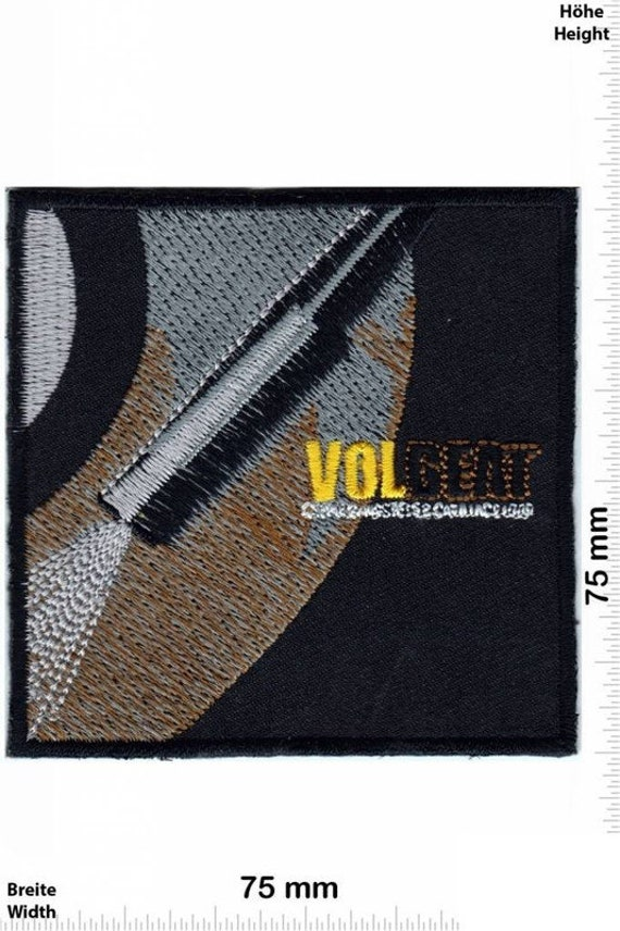 Volbeat Patch VINTAGE MINT 80s Badge Embroidered I