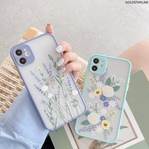 Spiritual Elements 19 - Pastel Purple Butterflies Tirita Personalised Phone Case Cover Compatible with iPhone 7//8 SE 2020