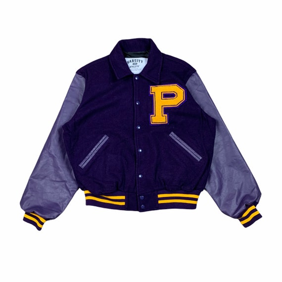 Varsity Jacket 1992 Athletic Purple college jacket