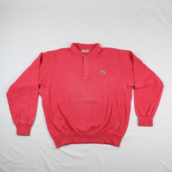 lacoste chemise vintage polo sweatshirt