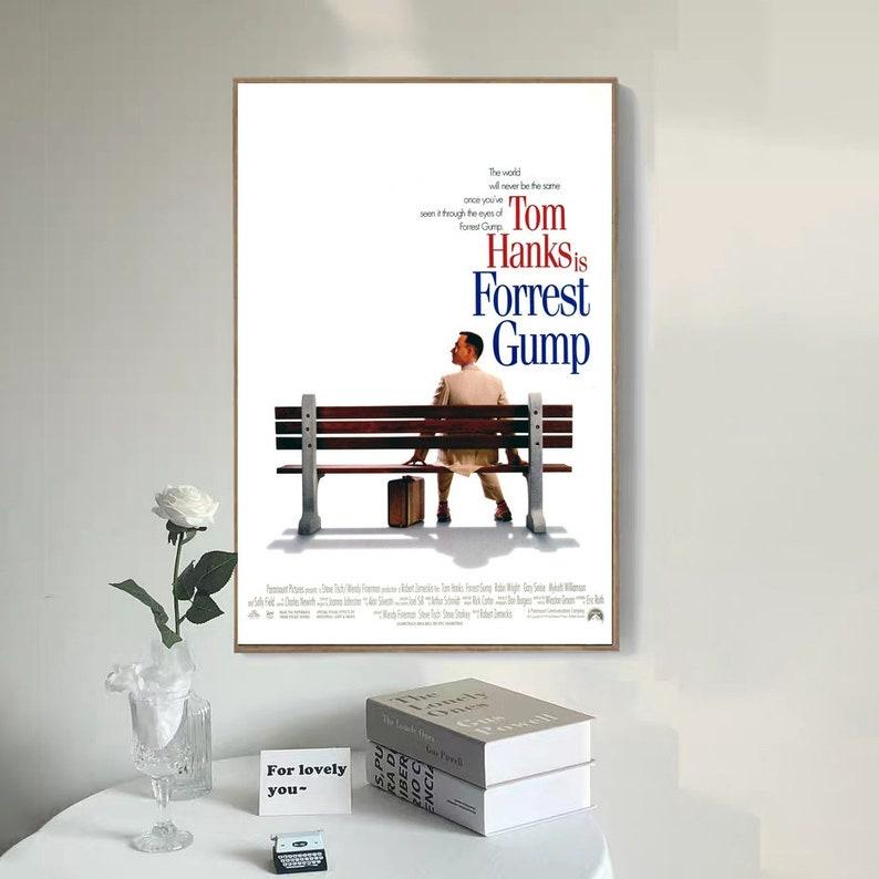 Forrest Gump Movie Poster Canvas Poster bedroom art Without frame