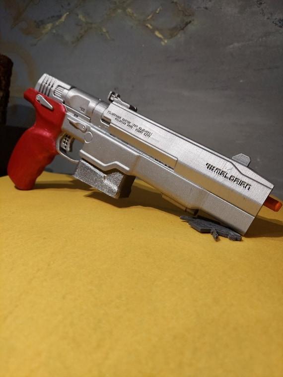 Cosplay Gun,From Cyberpunk Game MalorianArms3516,Johnny Silverhand,PROP GUN,Cyberpunk Gun,Cyberpunk 2077 Gun,Cyberpunk Guns Cyberpunk 2077