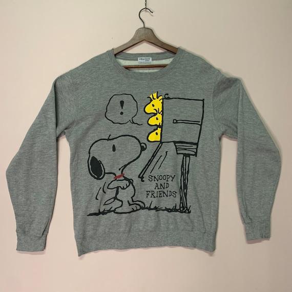 Peanuts & Friends Sweatshirt Crewneck Plain Sweate