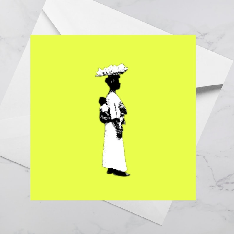 Luxury Greeting Card  Sweet Mother Neon  Birthday Mothers image 0