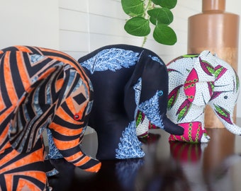 Toys gifts African Print bear Made in USA Home decor