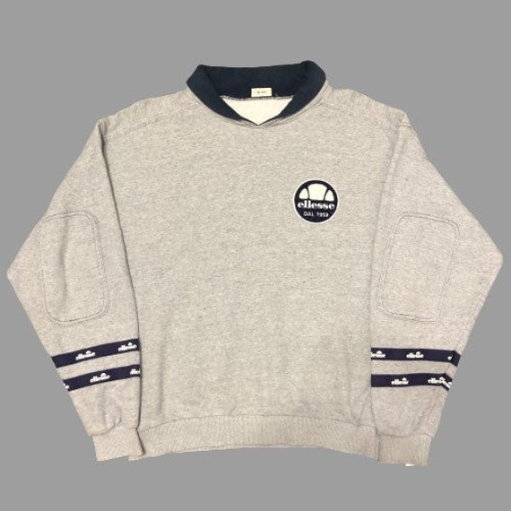 ELLESSE Crewneck Medium Vintage 90s Ellesse Sweatshirt Sweater Ladies Size M