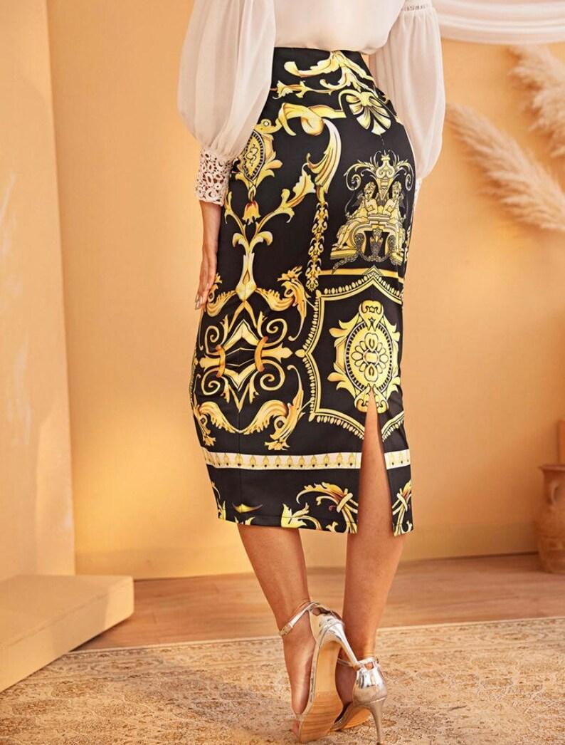 Women renaissance inspired skirt