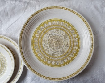 Franciscan Family China Springsong Dinner Plates Salad Plates Saucers and Cups