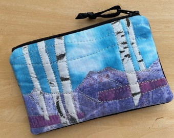 Credit Card Pouch -Mountain View