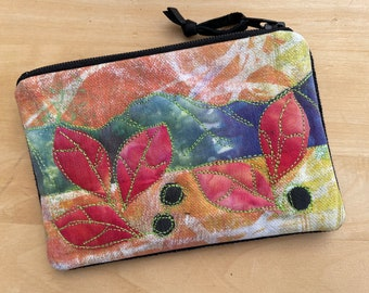 Credit Card Pouch -Bearberry Mountain