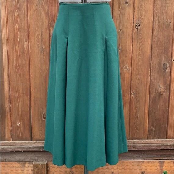 Vintage Aljean 100% Wool Skirt