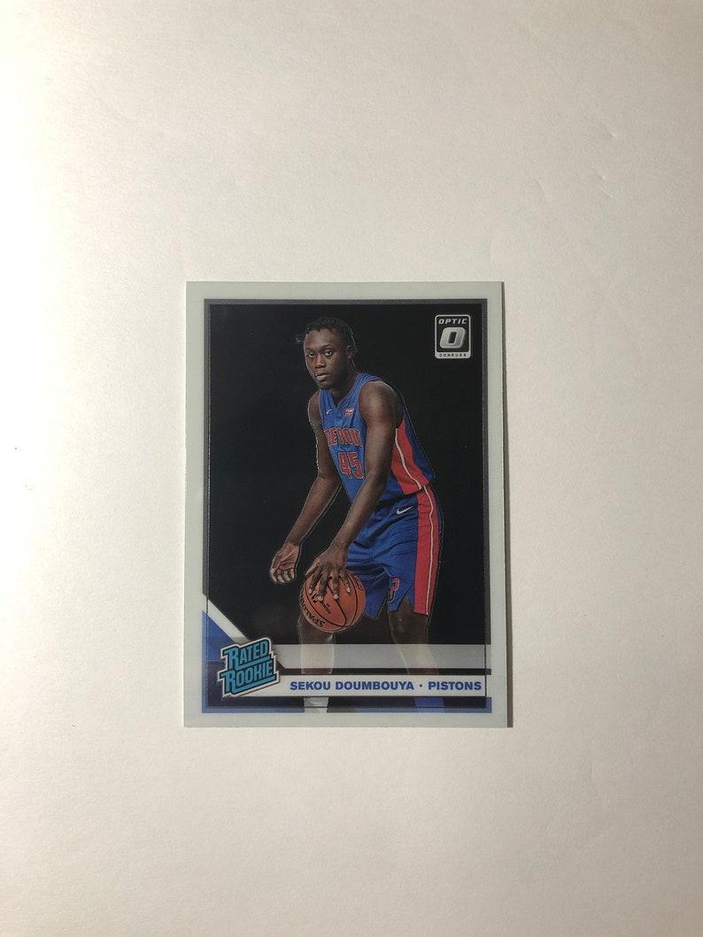 Sekou Doumbouya 2019-20 Optic Base Rated Rookie RC #164 Pistons