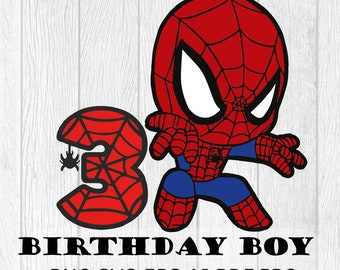 Spiderman SVG Spiderman Font Spiderman Spiderman Party Supplies