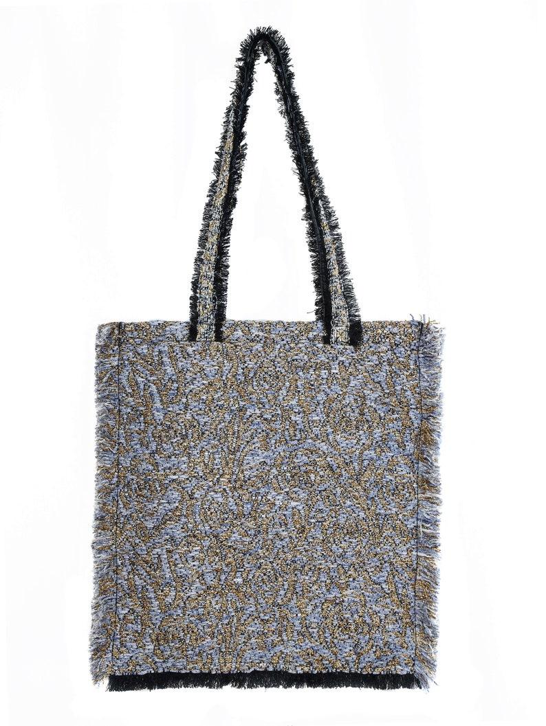 Tweed Shopper Bag 059
