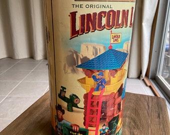 Vintage Lincoln Logs lot