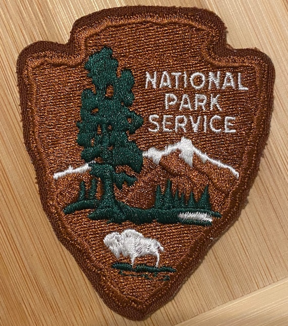 Vintage National Park Service Patch